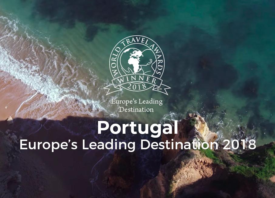 Portugal, 2ème fois gagnant du World Travel Awards