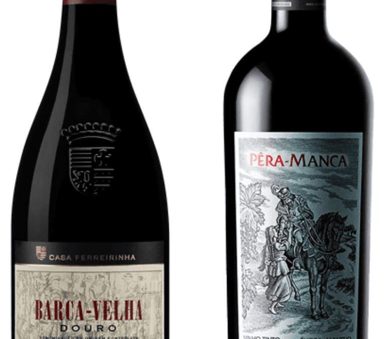 Deux vins portugais classés dans les 10 premières places